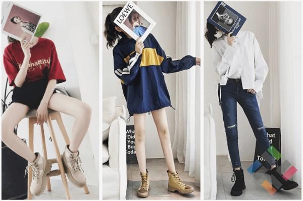 Giày boots nữ Quảng Châu - Hình 2