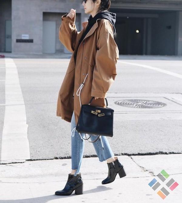 Giày boots nữ Quảng Châu - Hình 4