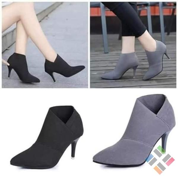 Giày boots nữ Quảng Châu - Hình 5