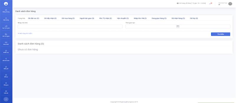 Trang web đặt đồ 1688 với giao diện trực quan dễ dàng sử dụng