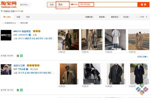 Copy và paste từ khóa áo khoác để tìm sản phẩm
