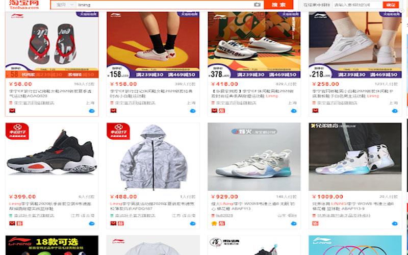 Bạn có thể mua rất nhiều sản phẩm tại Taobao