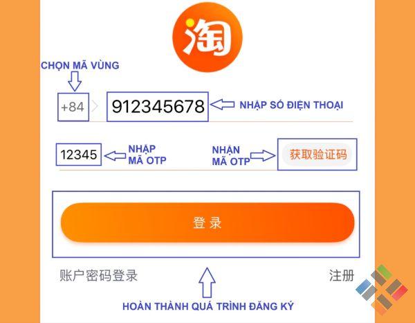 Cách đăng nhập Taobao - Hình 11
