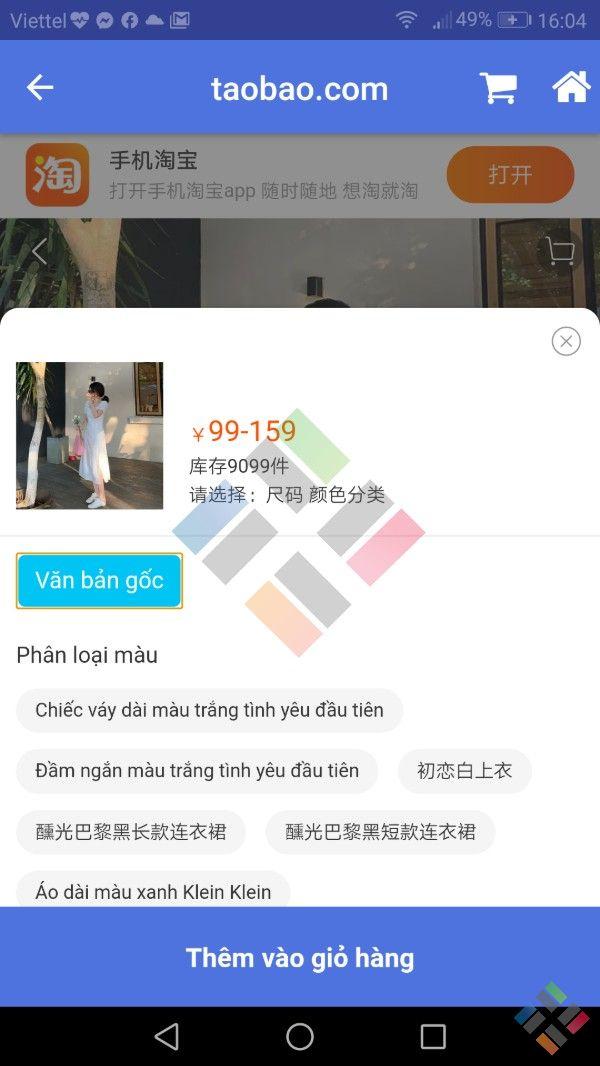 Dịch vụ mua hàng Taobao - Hình 12