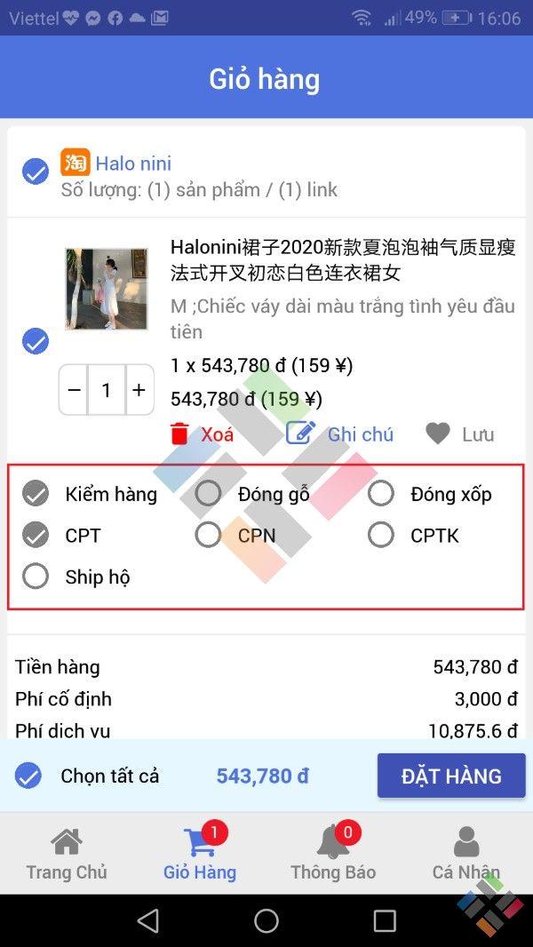 Dịch vụ mua hàng Taobao - Hình 13