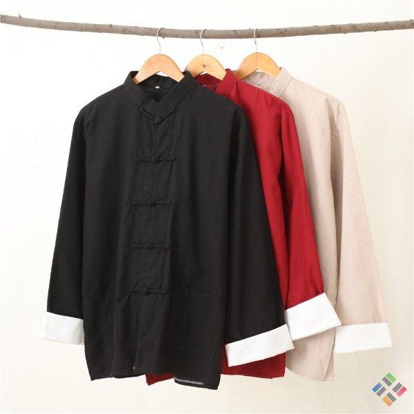 Quần áo võ thuật Trung Quốc tối giản và trang trọng