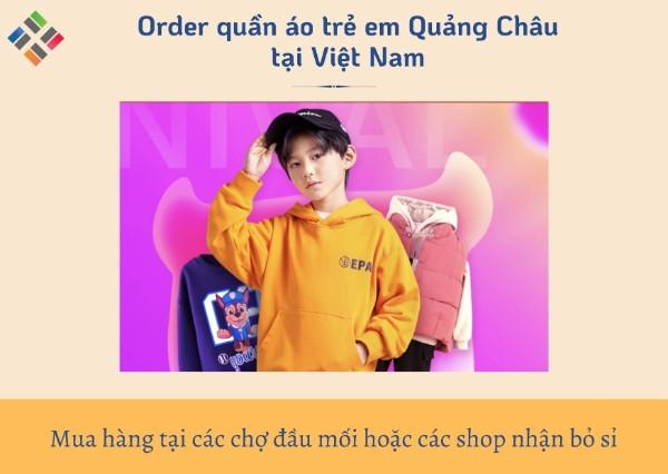 Order quần áo trẻ em Quảng Châu 7