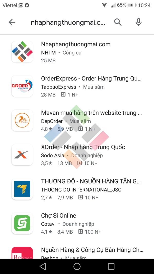 Phần mềm mua hàng Trung Quốc | Hình 1