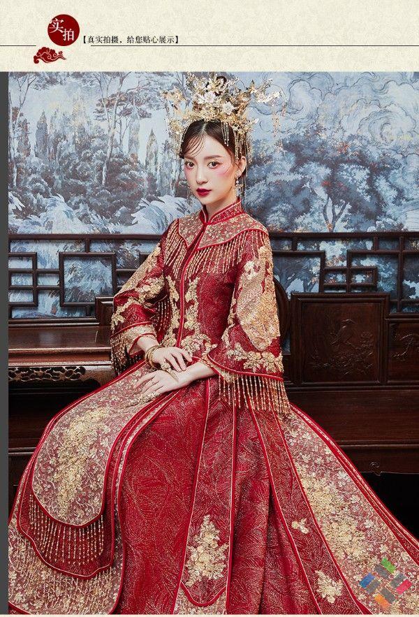 trang phục cưới cổ trang