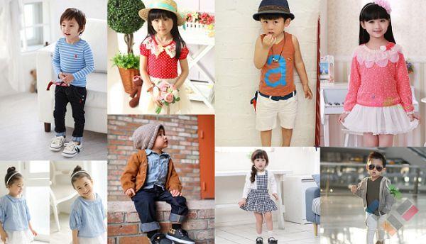 Các mẫu quần áo trẻ em Trung Quốc đẹp