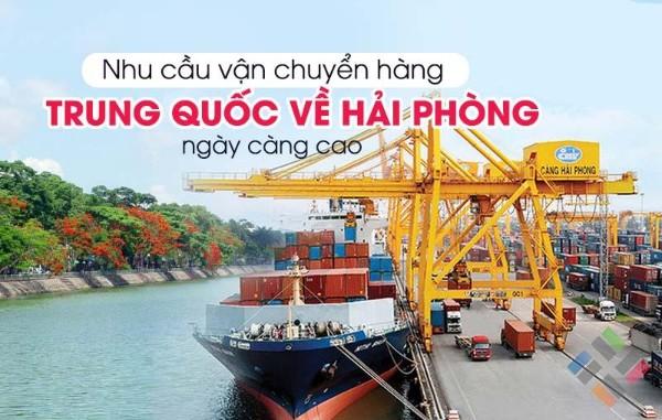 Vận chuyển hàng từ Trung Quốc về Hải Phòng - Hình 1